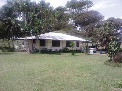 The Writebols' home in Monrovia
