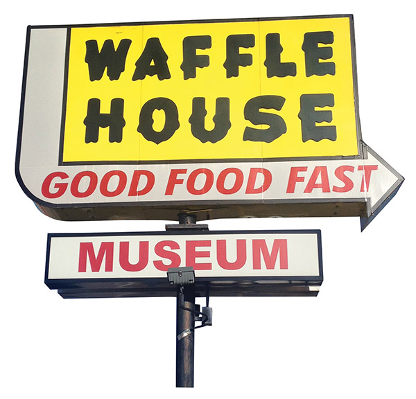 Photograph courtesy of Waffle House