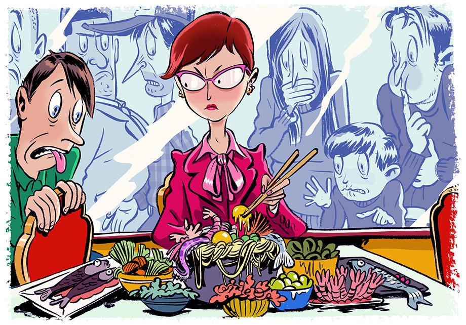 Illustration by Zohar Lazar