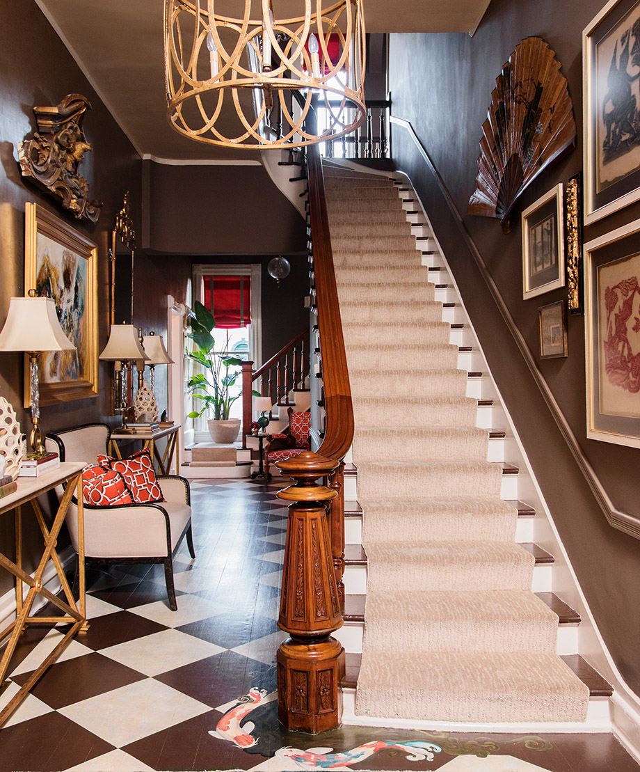 Old Victorian Room: Room Envy: A Victorian Foyer With A Modern Twist