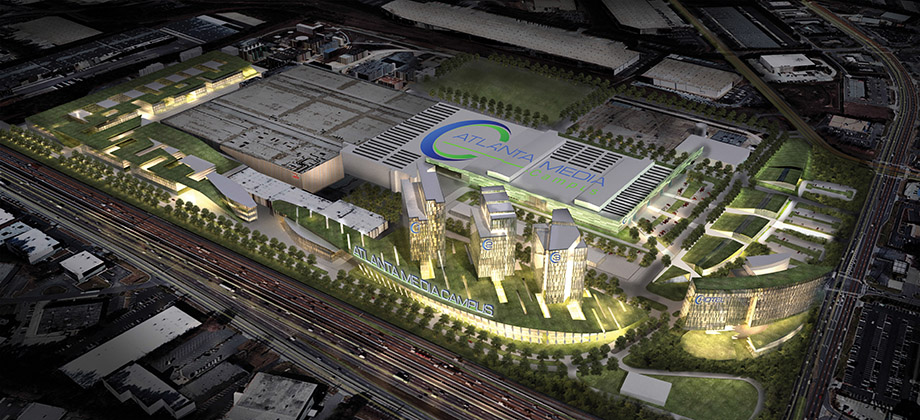 Jacoby's planned Atlanta Media Campus & Studios
