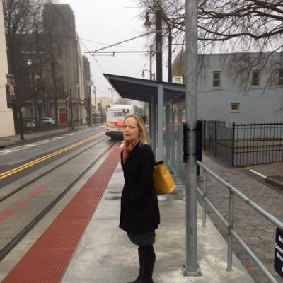 Commuting by Atlanta Streetcar turned out to take about the same time as walking the few miles from my home to my office.