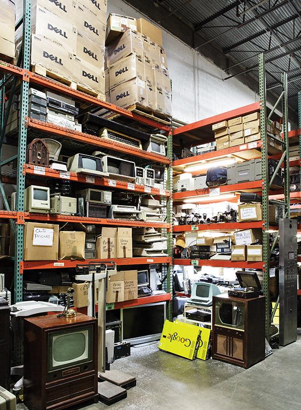 RJR Props' warehouse