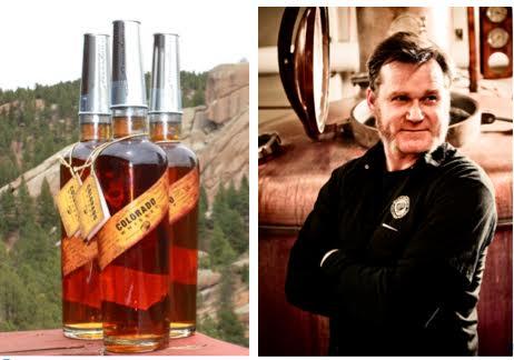 Rob Dietrich, master distiller of Stranahan's Colorado Whiskey