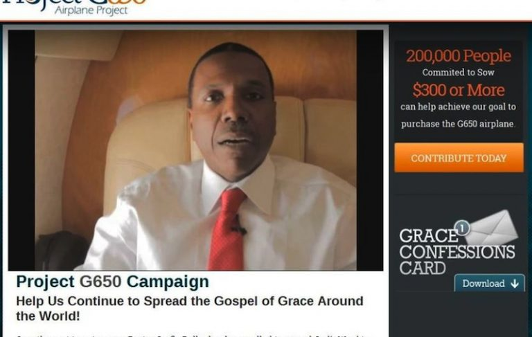 Commentary: The brilliant strategy of Rev. Creflo Dollar's request for a $60 million private plane