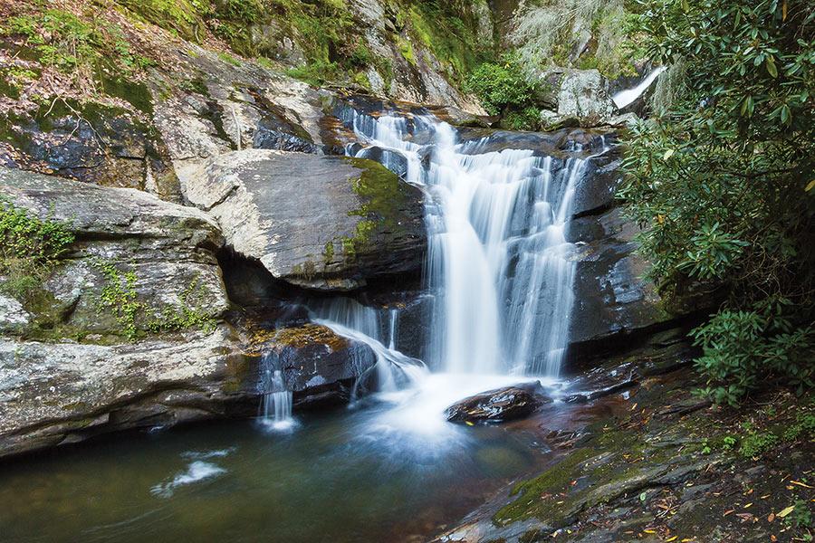 Dukes Creek Falls, Dahlonega, Georgia