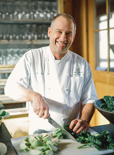 Chef John Fleer at Canyon Kitchen