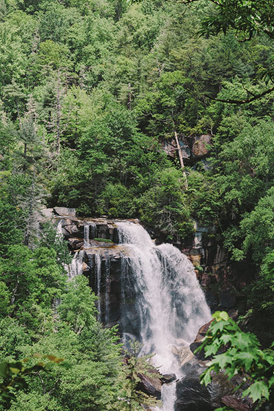 Whitewater Falls, Highlands, North Carolinea