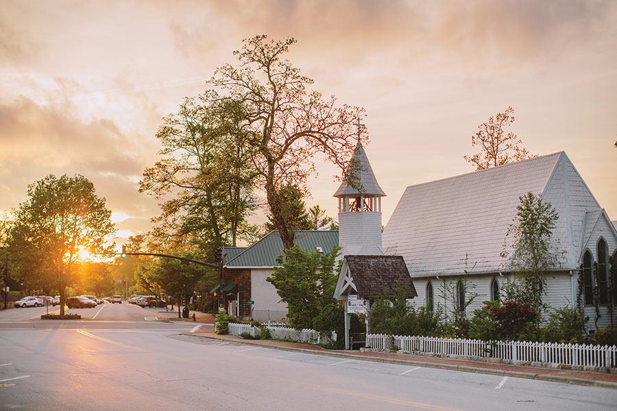 The Episcopal Church of Incarnation, Highlands, North Carolina.