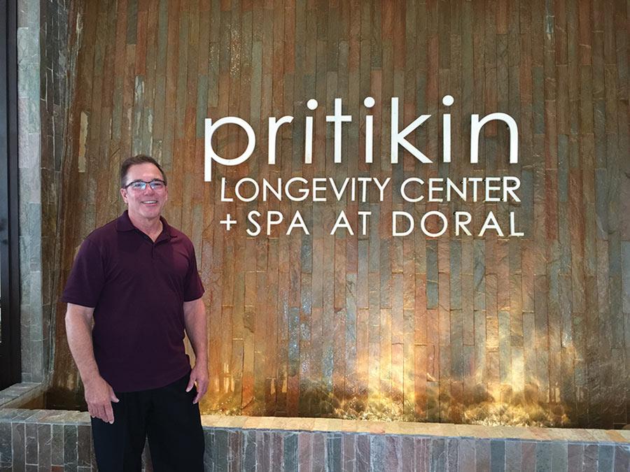 Carlos Harrison at Pritkin Longevity Center