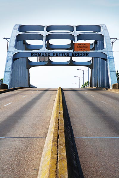 Selma's Edmund Pettus Bridge, where some 600 civil rights activists were attacked on Bloody Sunday, was designated a National Historic Landmark in 2013.