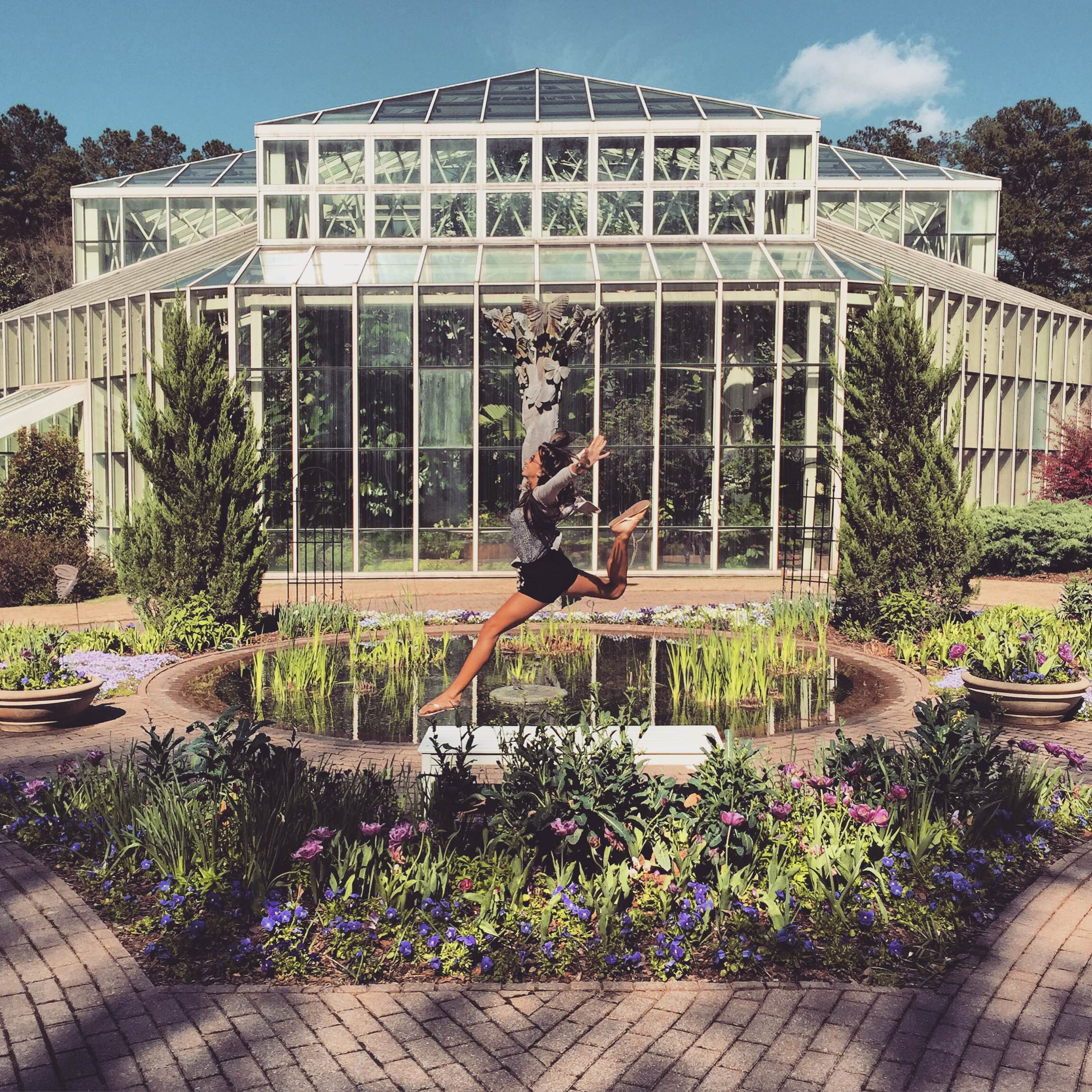 The Author Takes A Leap At The Cecil B. Day Butterfly Center