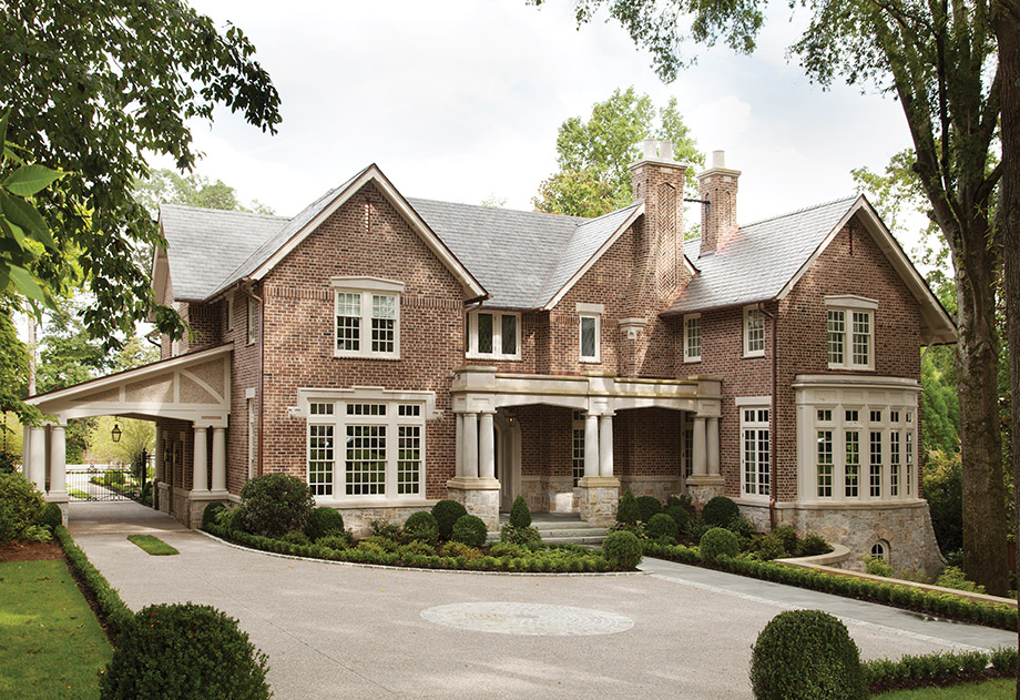 Tudor Treasure Architect Frank Neely Designs An Old English Home In Buckhead