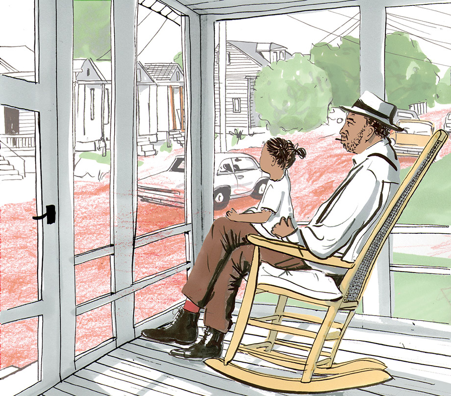 Illustration by Clare Mallison