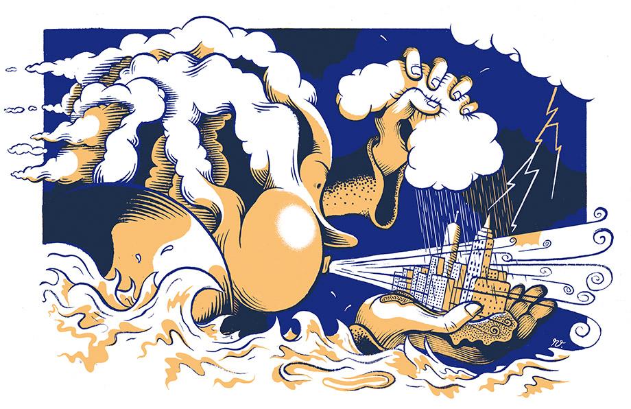 Illustration by Renaud Vigourt