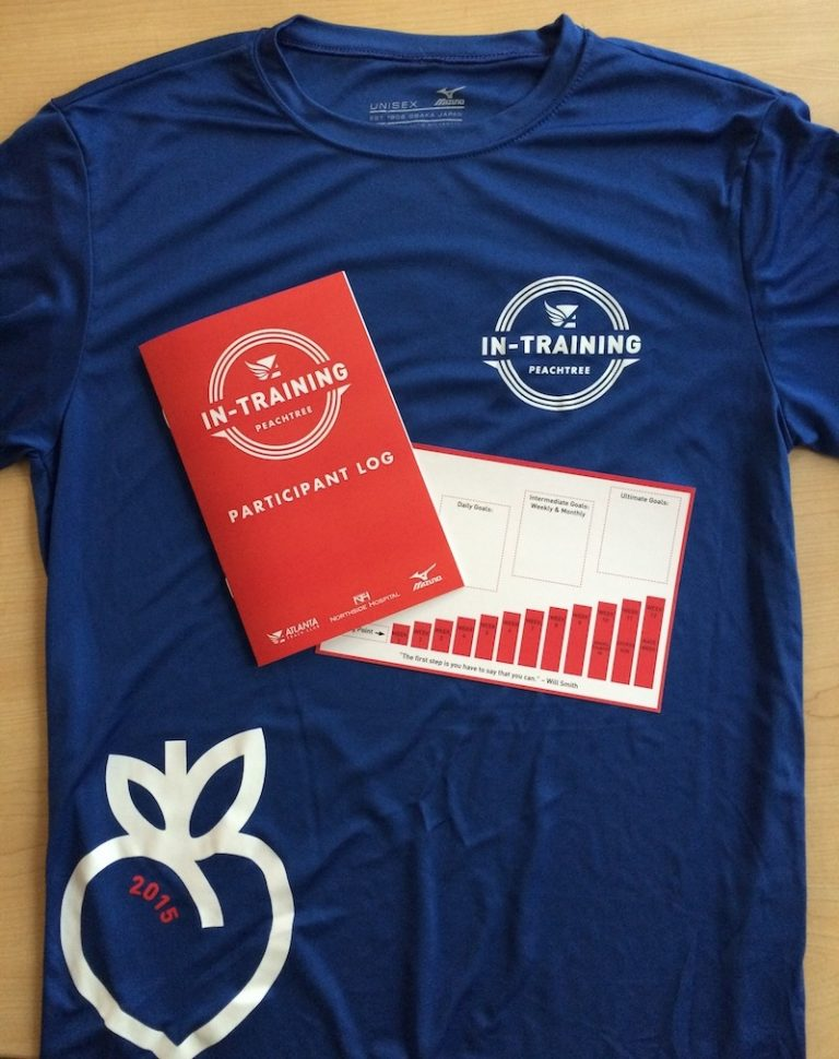 Countdown to the Peachtree Road Race: The benefit of training with a group