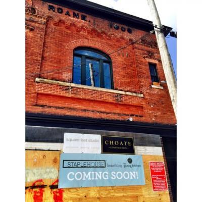 Staplehouse Coming Soon