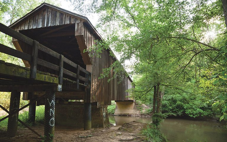 In the 1800s, a freed slave built bridges across the South. In Georgia, one endures