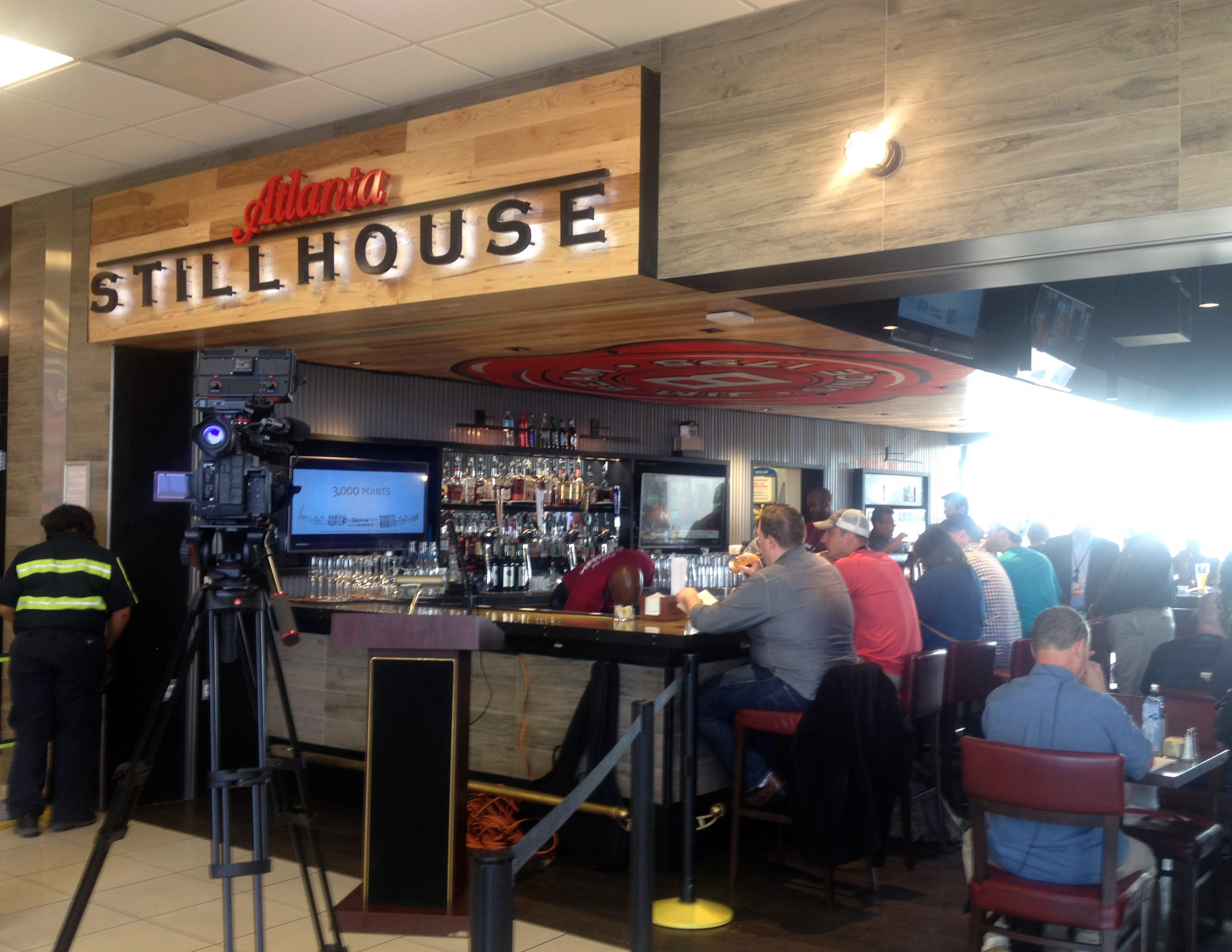 Jim Beam Sponsored Bourbon Bar Atlanta Stillhouse Celebrates Grand