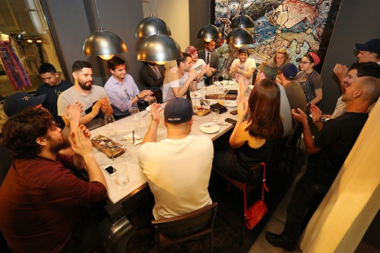 Snapshot: Inside Cooks & Soldiers' Friday night experiments