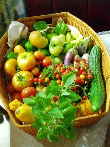 Produce from Patchwork City Farms