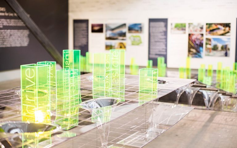 Atlanta artist Tristan al-Haddad makes a statement on healthy cities at MODA