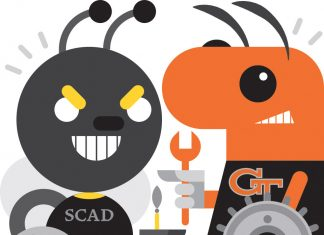 SCAD Georgia Tech Mascots