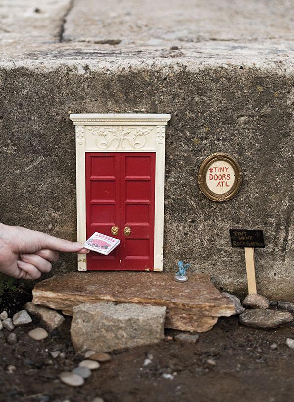 The Miniature Charm Of Tiny Doors Atl Atlanta Magazine