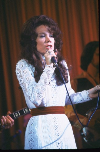 Spacek transformed into a young Loretta Lynn in Coal Miner's Daughter.