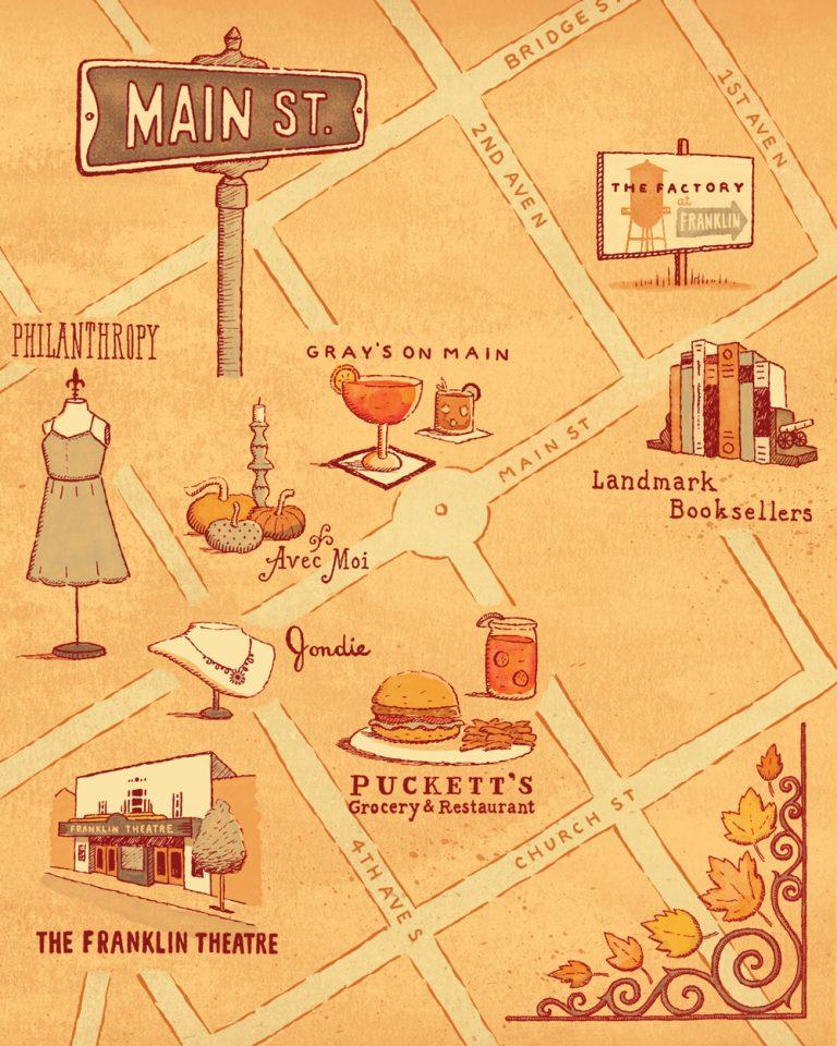 Street Smart: Franklin, Tennessee's Main Street
