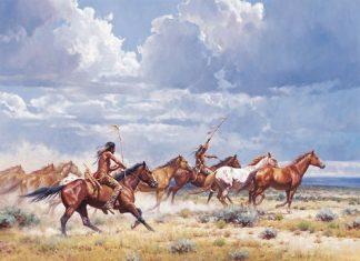 Cowboy art