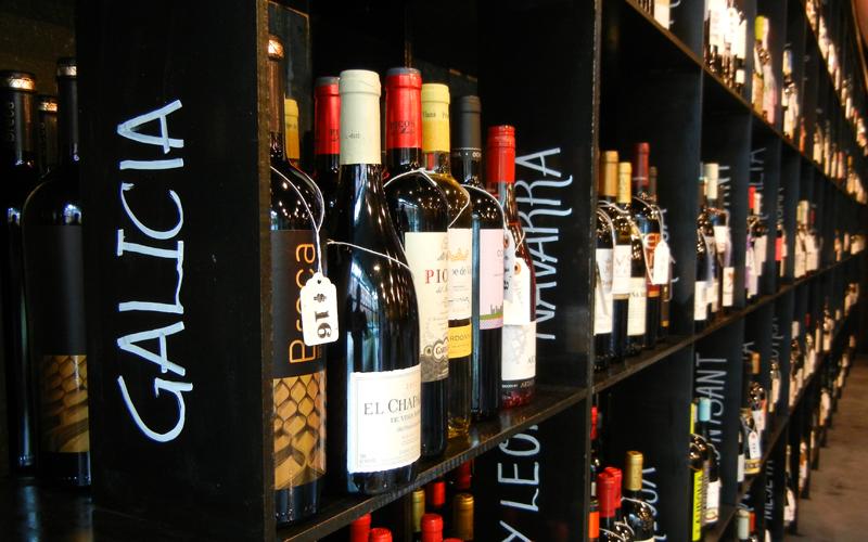 Vinoteca, Barcelona Wine Bar's first wine shop