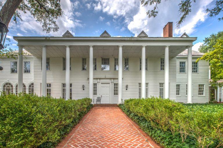 House Envy: Neil Reed's version of George Washington's Mount Vernon estate