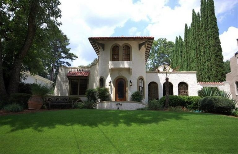 House Envy: Spanish Colonial with glamorous past