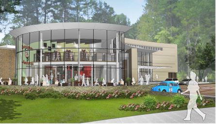 Rendering of the new Souper Jenny at the Atlanta History Center
