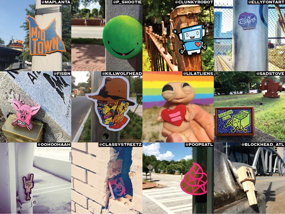 best of atlanta 2015 urban scavenger hunt free art friday