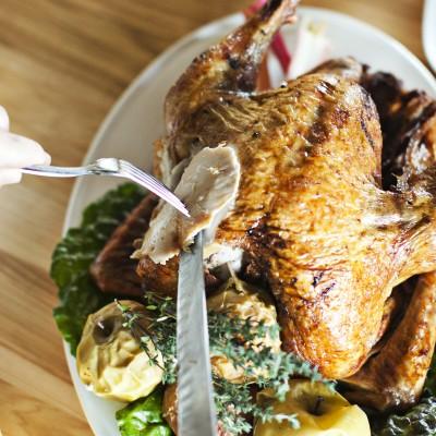 Serpas Thanksgiving turkey