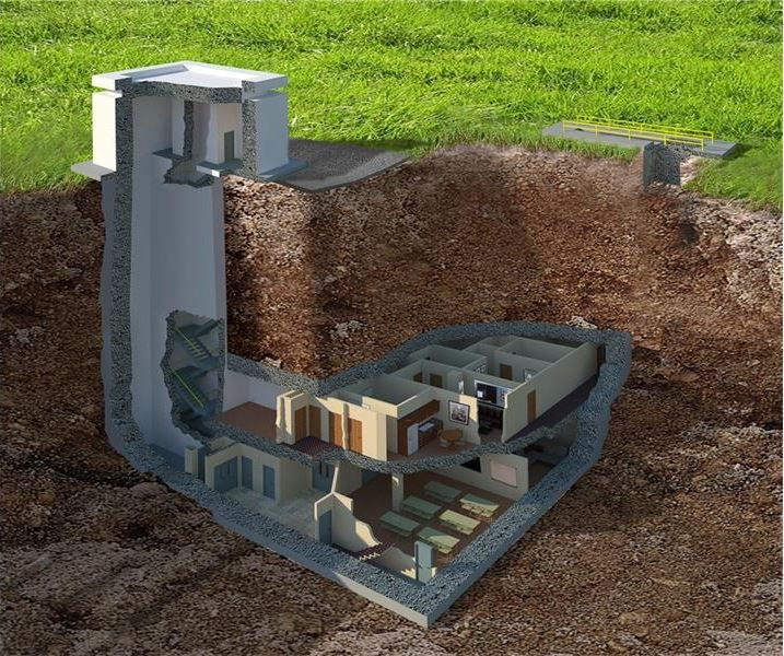 House Envy: Survive a nuclear blast in this $17.5-million underground shelter