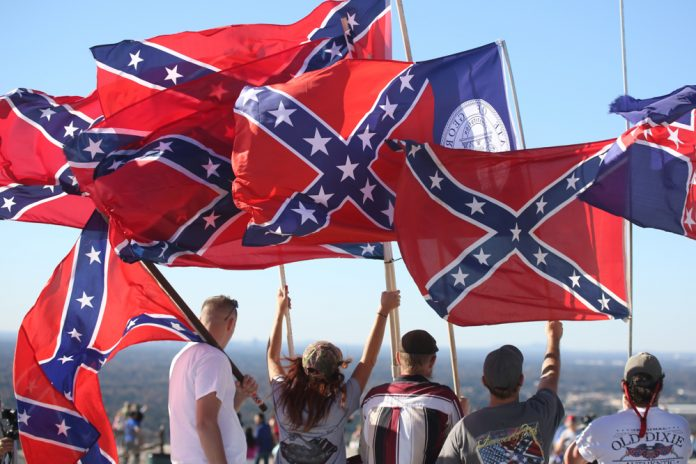 'Defend Stone Mountain' rally