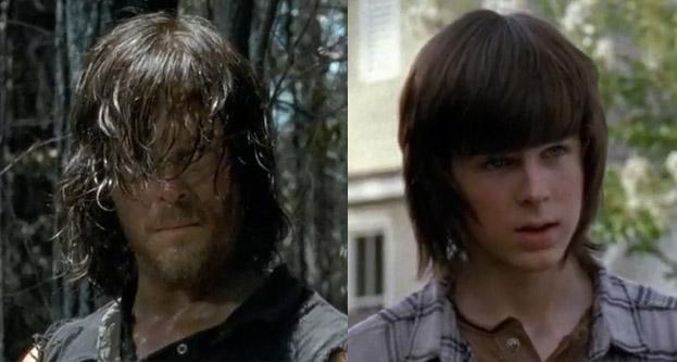 The Walking Dead Daryl Carl