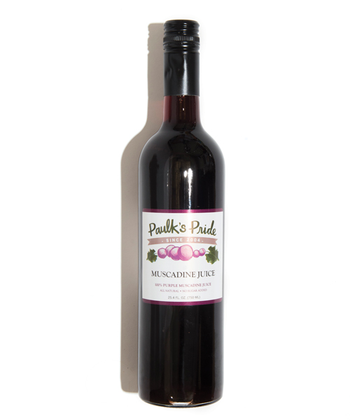 Paulk's Pride Purple Muscadine Grape Juice