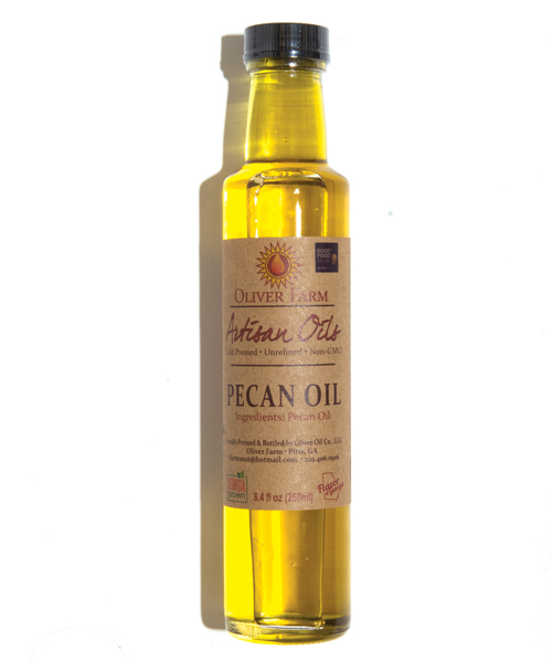 Oliver Farm unrefined pecan oil