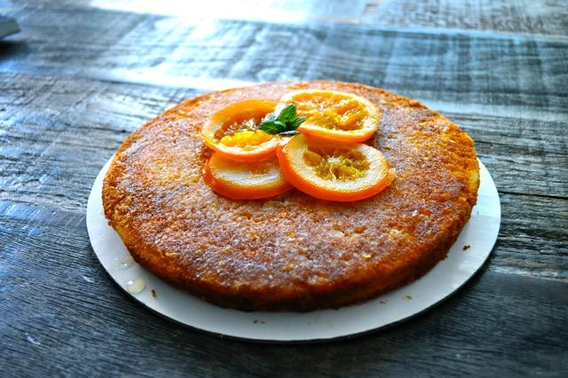 Gran Marnier Cake