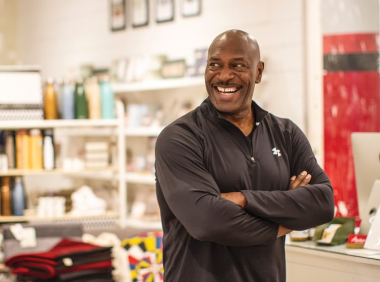 Eight-time Mr. Olympia Lee Haney returns to the site of his iconic gym