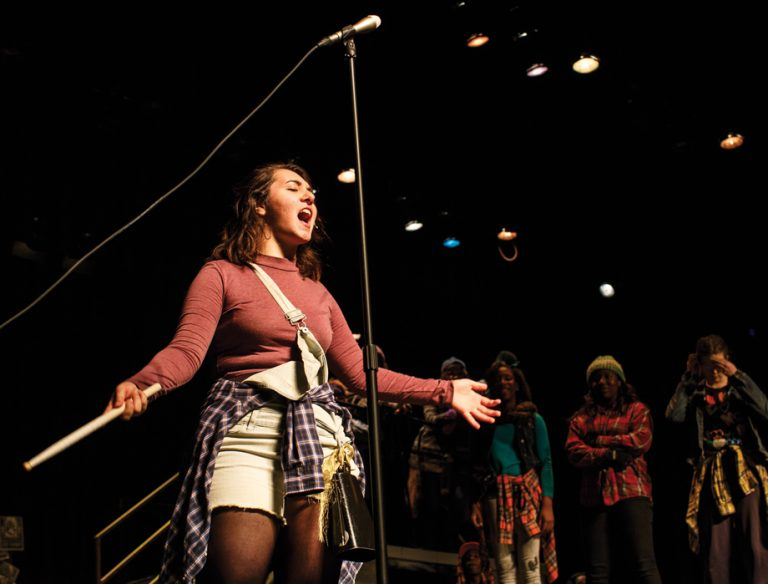 One Square Mile: A Newton High understudy gets her turn in the spotlight