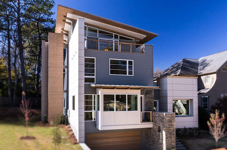 House envy: Striking Brookhaven contemporary is first of a series