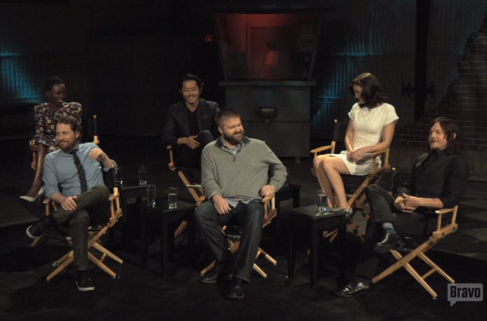 The Walking Dead Inside the Actors Studio