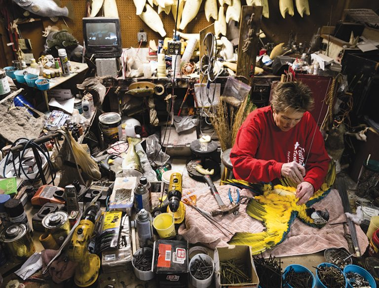 One Square Mile: Feather, Fin, and Fur Taxidermy Studio