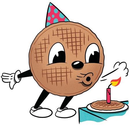 Waffle House birthday