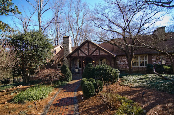 House envy: Part log cabin, part hunting lodge, this Sandy Springs home is rich with history